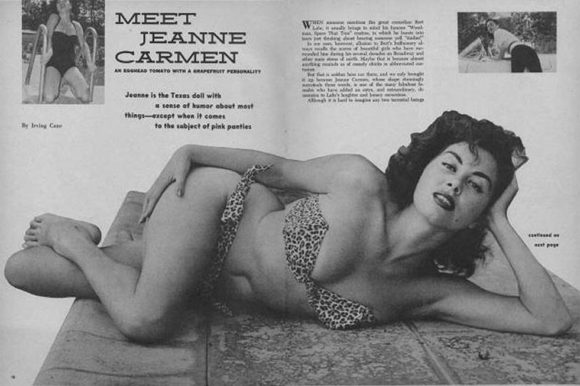 Jeanne Carmen Pin Up 14